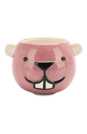 Детского чашка-подстаканник керамический BLOOMINGVILLE розового цвета, арт. 75173961 | Фото 1