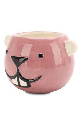 Детского чашка-подстаканник керамический BLOOMINGVILLE розового цвета, арт. 75173961 | Фото 2