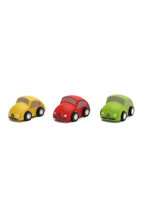 Детского игрушка из 3-х машин PLAN TOYS разноцветного цвета, арт. 6024 | Фото 1