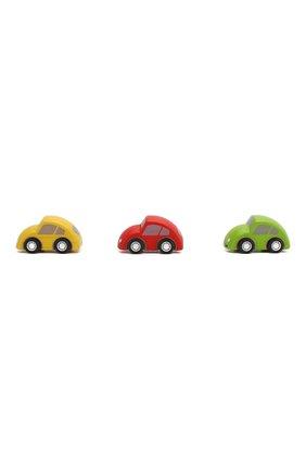 Детского игрушка из 3-х машин PLAN TOYS разноцветного цвета, арт. 6024 | Фото 2