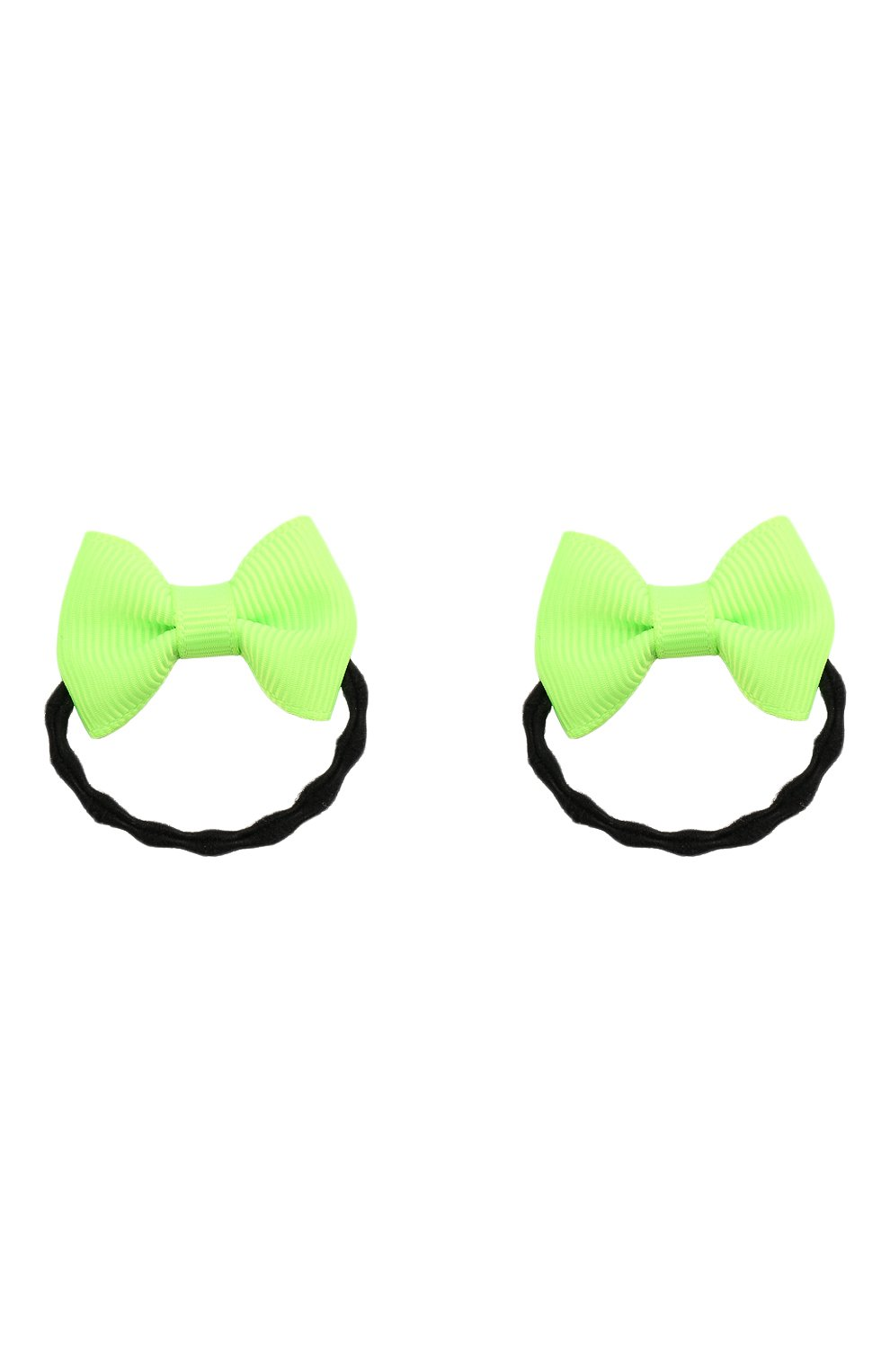 Детская комплект из 2-х резинок JUNEFEE зеленого цвета, арт. 6409 | Фото 1
