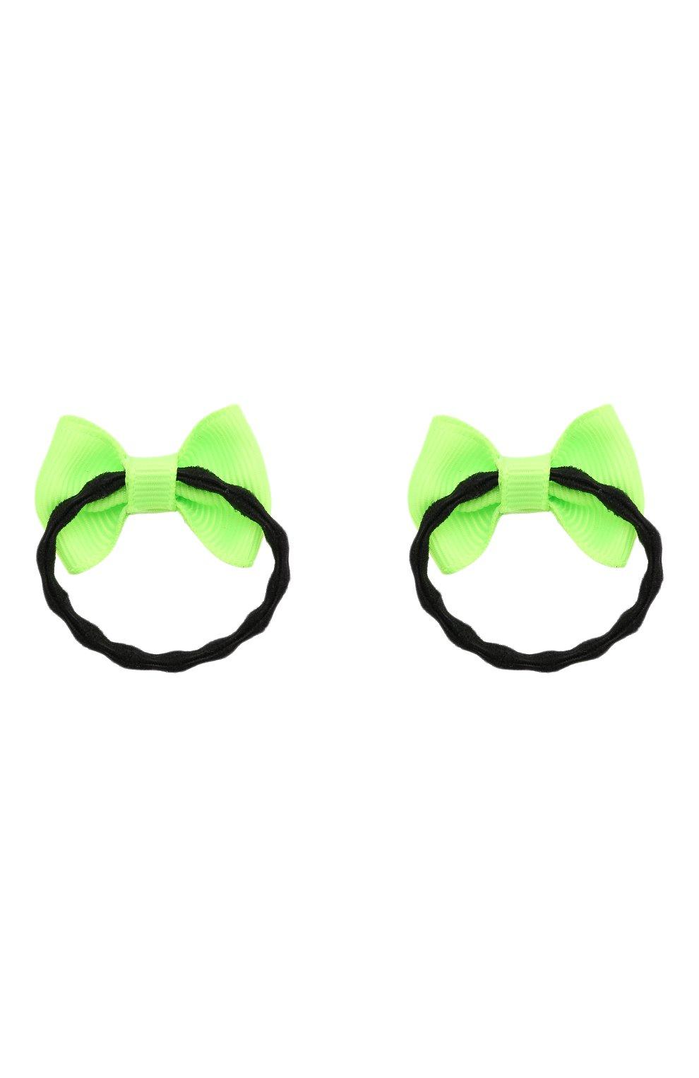 Детская комплект из 2-х резинок JUNEFEE зеленого цвета, арт. 6409 | Фото 2