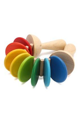Детского игрушка трещотка PLAN TOYS разноцветного цвета, арт. 6413 | Фото 2