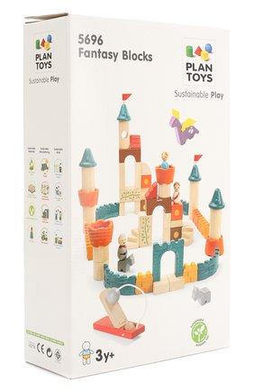 Детского конструктор фантазия PLAN TOYS разноцветного цвета, арт. 5696 | Фото 2