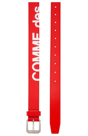 Мужской кожаный ремень COMME DES GARCONS PLAY красного цвета, арт. SA0911HL | Фото 2