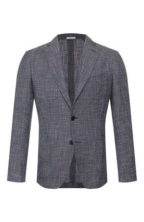 Пиджак из смеси шерсти и хлопка   Фото №1