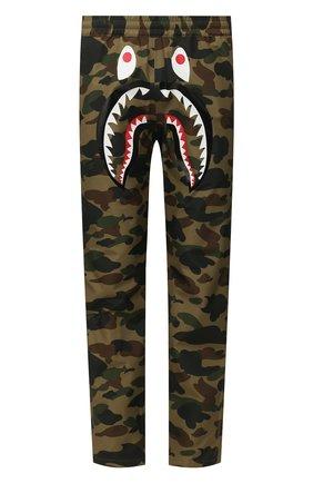 Мужской брюки BAPE зеленого цвета, арт. 1G20152002 | Фото 1