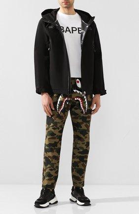 Мужской брюки BAPE зеленого цвета, арт. 1G20152002 | Фото 2