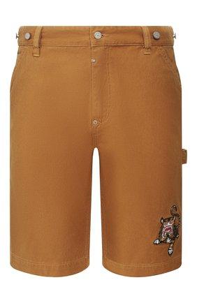 Мужские джинсовые шорты BAPE коричневого цвета, арт. 1F20151003   Фото 1