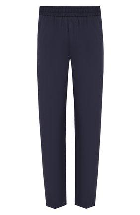 Мужской хлопковые брюки ACNE STUDIOS темно-синего цвета, арт. BK0233/M | Фото 1