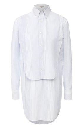 Женская хлопковая рубашка MRZ голубого цвета, арт. S20-0475 | Фото 1