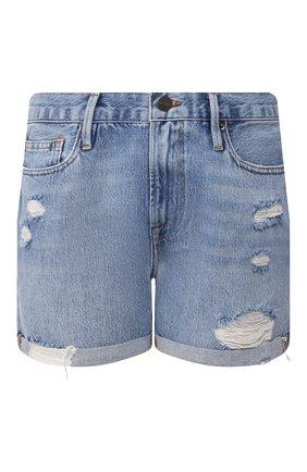 Женские джинсовые шорты FRAME DENIM синего цвета, арт. LBUSCF385 | Фото 1