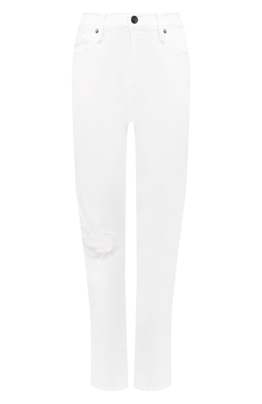 Женские джинсы FRAME DENIM белого цвета, арт. LBU711 | Фото 1