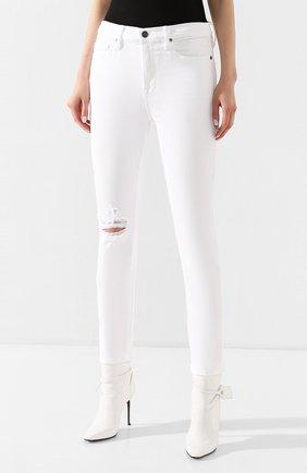 Женские джинсы FRAME DENIM белого цвета, арт. LBU711 | Фото 3