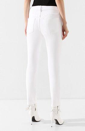Женские джинсы FRAME DENIM белого цвета, арт. LBU711 | Фото 4