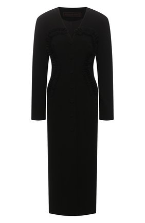 Женское шелковое платье ULYANA SERGEENKO черного цвета, арт. ABM026FW19P (1213т19) | Фото 1