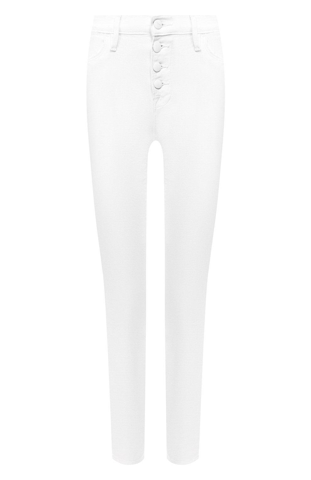 Женские джинсы FRAME DENIM белого цвета, арт. LHSKEB790 | Фото 1