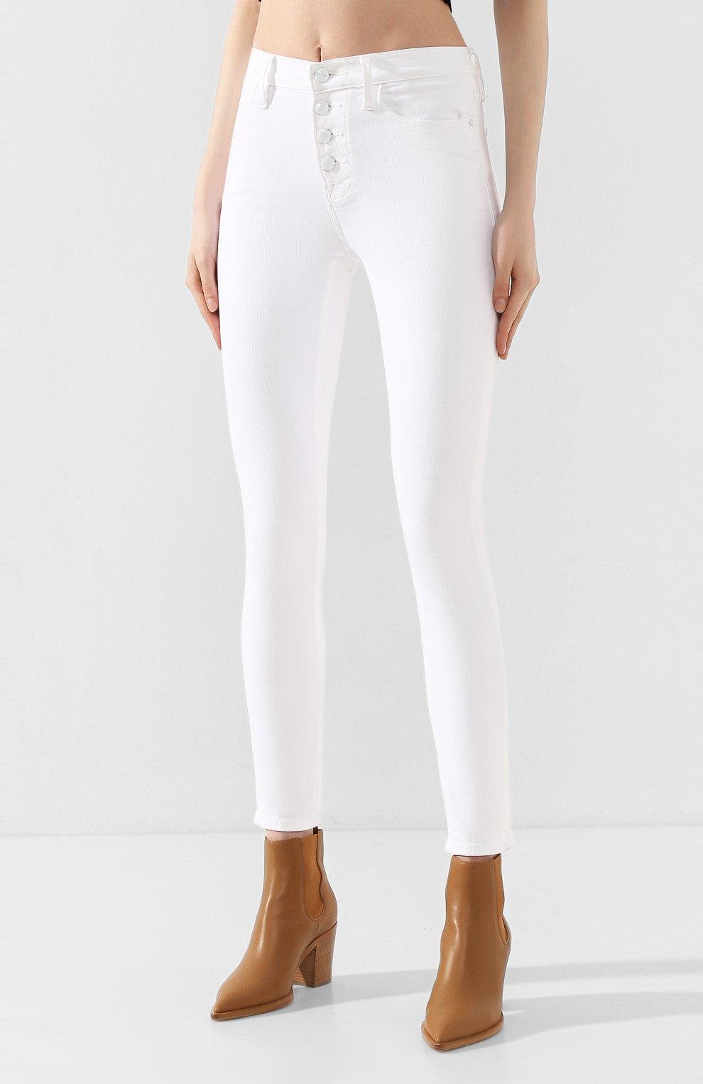 Женские джинсы FRAME DENIM белого цвета, арт. LHSKEB790 | Фото 3