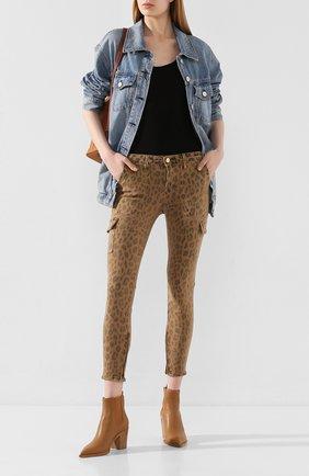 Женские джинсы FRAME DENIM леопардового цвета, арт. CSKSC403P | Фото 2