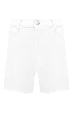 Женские джинсовые шорты J BRAND белого цвета, арт. JB002896 | Фото 1