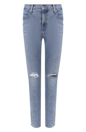 Женские джинсы J BRAND голубого цвета, арт. JB001121/E | Фото 1