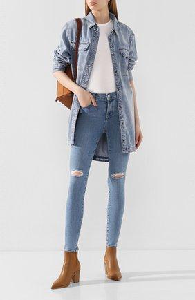 Женские джинсы J BRAND голубого цвета, арт. JB001121/E | Фото 2