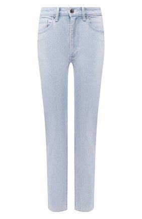 Женские джинсы BURBERRY голубого цвета, арт. 8027448 | Фото 1