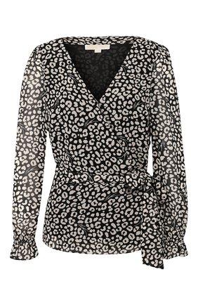 Женская блузка MICHAEL MICHAEL KORS черно-белого цвета, арт. MH94LYKDDM | Фото 1