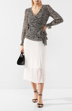 Женская блузка MICHAEL MICHAEL KORS черно-белого цвета, арт. MH94LYKDDM | Фото 2
