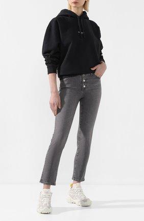 Женские джинсы AG серого цвета, арт. STS1782/ENTY | Фото 2
