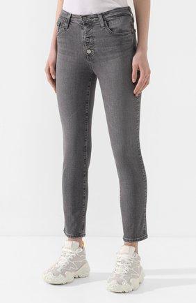 Женские джинсы AG серого цвета, арт. STS1782/ENTY   Фото 3