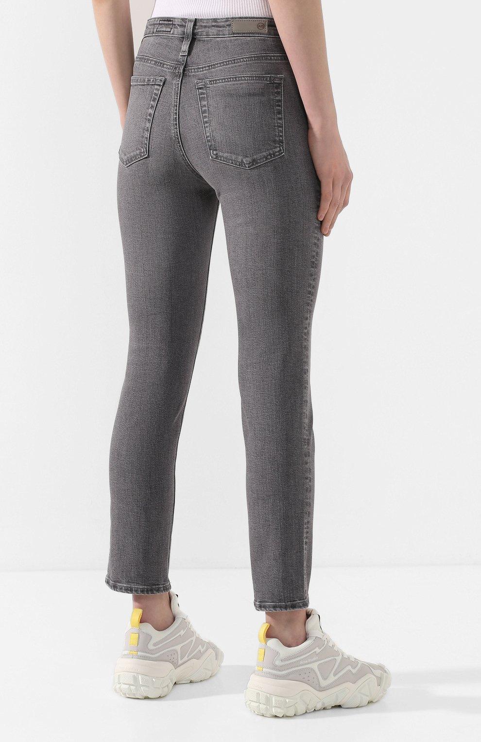 Женские джинсы AG серого цвета, арт. STS1782/ENTY   Фото 4