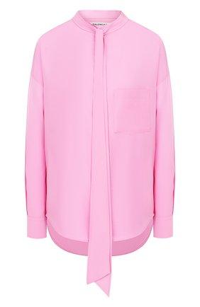 Женская блузка BALENCIAGA розового цвета, арт. 520497/TF002 | Фото 1