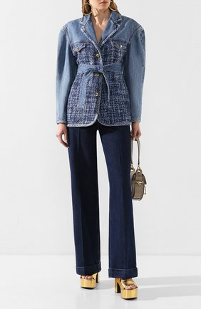 Женские джинсы PHILOSOPHY DI LORENZO SERAFINI синего цвета, арт. A0327/2130 | Фото 2