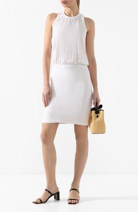 Женское хлопковое платье JAMES PERSE белого цвета, арт. WVD6475 | Фото 2