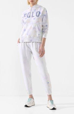 Женская хлопковое худи POLO RALPH LAUREN белого цвета, арт. 211792185 | Фото 2