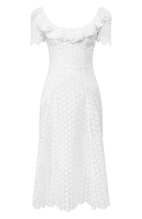 Женское льняное платье POLO RALPH LAUREN белого цвета, арт. 211793010 | Фото 1