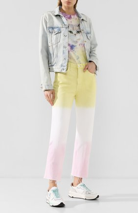 Женские джинсы GRLFRND разноцветного цвета, арт. GF42688661336 | Фото 2