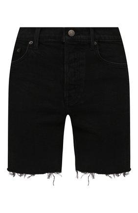 Женские джинсовые шорты GRLFRND черного цвета, арт. GF43609461319 | Фото 1