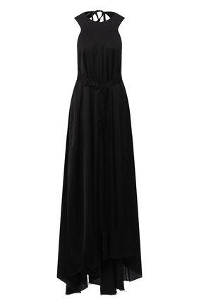 Женское платье-макси ANN DEMEULEMEESTER черного цвета, арт. 2001-2350-P-126-099   Фото 1