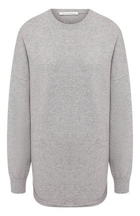 Женский кашемировый свитер EXTREME CASHMERE серого цвета, арт. 053/CREW H0P   Фото 1
