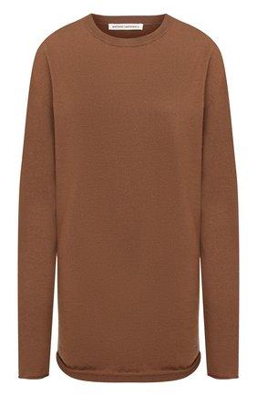 Женский кашемировый свитер EXTREME CASHMERE коричневого цвета, арт. 136/HEIN | Фото 1