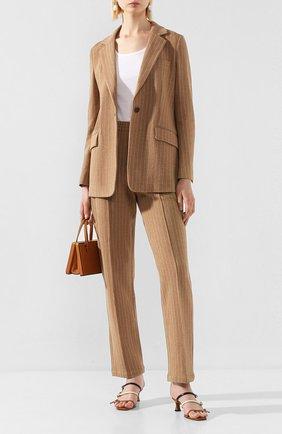 Женский хлопковый жакет RAG&BONE коричневого цвета, арт. WAW20S40052P05 | Фото 2
