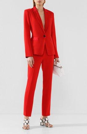 Женские брюки RAG&BONE красного цвета, арт. WAW20S7020M420   Фото 2