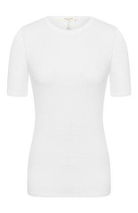 Женский пуловер RAG&BONE белого цвета, арт. WCC20ST045C745 | Фото 1