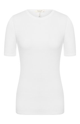 Женская пуловер RAG&BONE белого цвета, арт. WCC20ST045C745   Фото 1