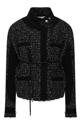 Женский жакет SACAI черного цвета, арт. 20-05006 | Фото 1