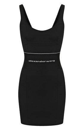 Женское платье ALEXANDER WANG черного цвета, арт. 1WC1206295 | Фото 1