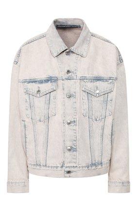 Женская джинсовая куртка DENIM X ALEXANDER WANG розового цвета, арт. 4DC1202584 | Фото 1