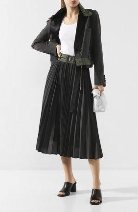Женский жакет SACAI серого цвета, арт. 20-04819 | Фото 2